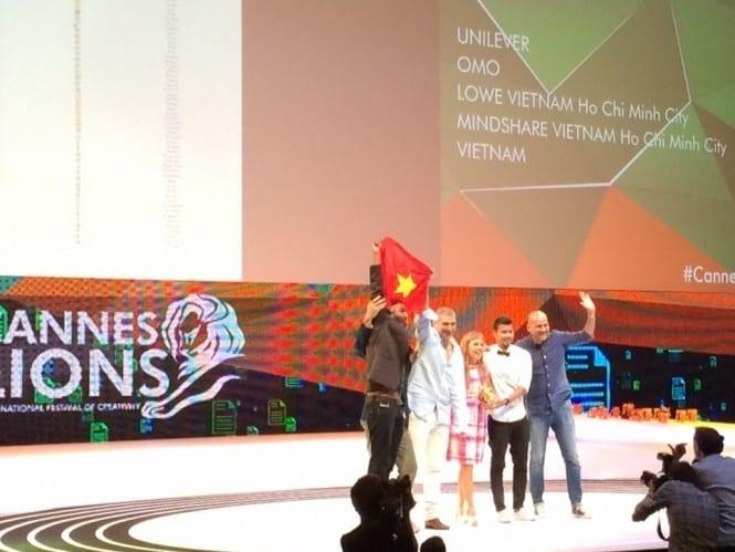 Lowe Vietnam và giải Vàng duy nhất trong lịch sử của Việt Nam tại Cannes Lions.