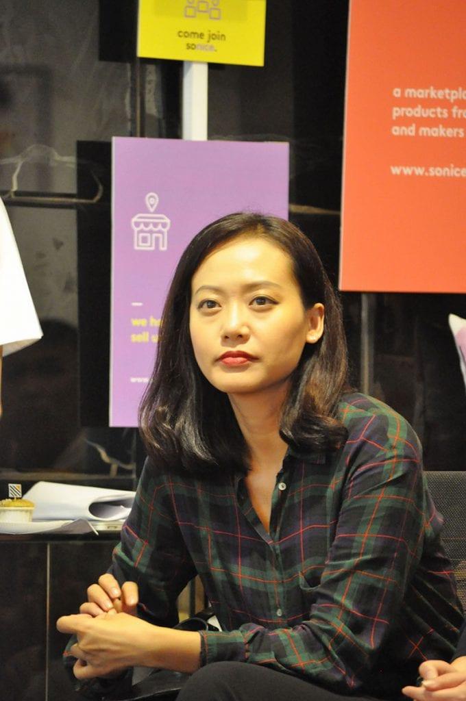 Diễn viên Hồng Ánh cùng đến chia sẻ với giới trẻ yêu nghệ thuật & sáng tạo