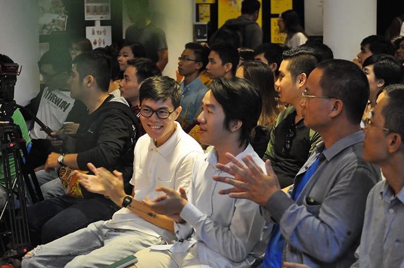 Các Arties, designer nổi bật trong ngành cũng đến chúc mừng Nhựt Nguyễn