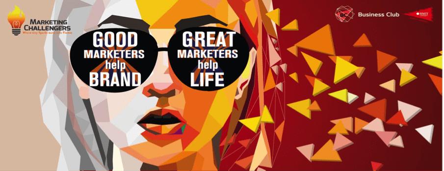 Hình ảnh thể hiện chủ đề của Marketing Challengers 2016