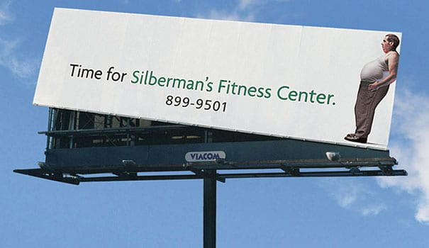 yoga-fitness-ads-silbermans-billboard