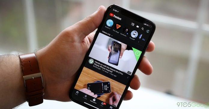 Ứng dụng YouTube di động có thêm tính năng vuốt để chuyển video