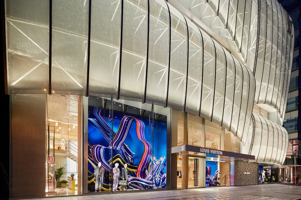 Cửa hàng flagship của Louis Vuitton gắn liền với việc xây dựng văn hóa và cộng đồng của thương hiệu.