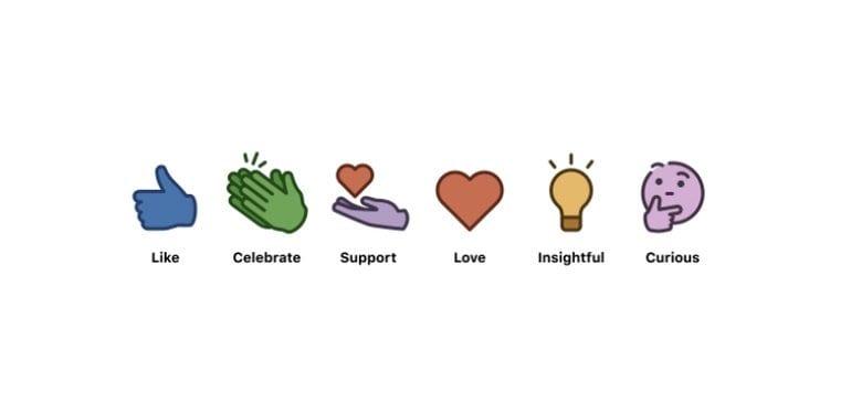 6 biểu tượng cảm xúc mới ra mắt của LinkedIn