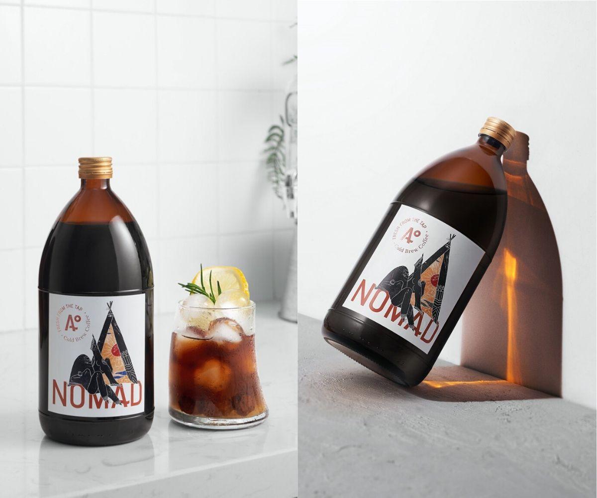 """NOMAD ra mắt mẫu chai mới có dung tích 1L, thỏa sức """"chill"""" cho tín đồ Cold Brew"""