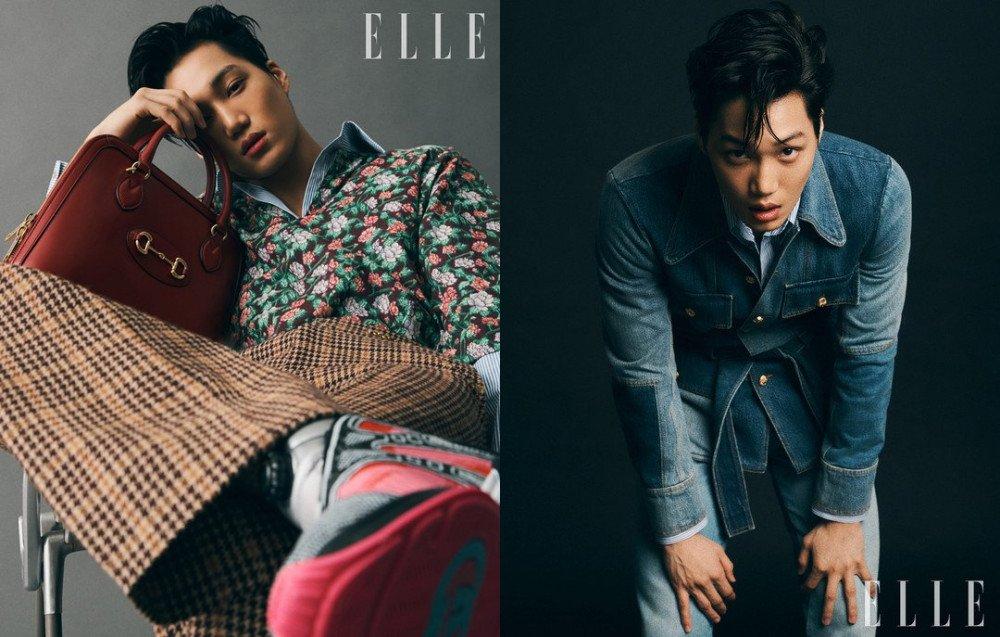 Ảnh: Elle Korea. Kai (EXO) - Đại sứ thương hiệu của Gucci.