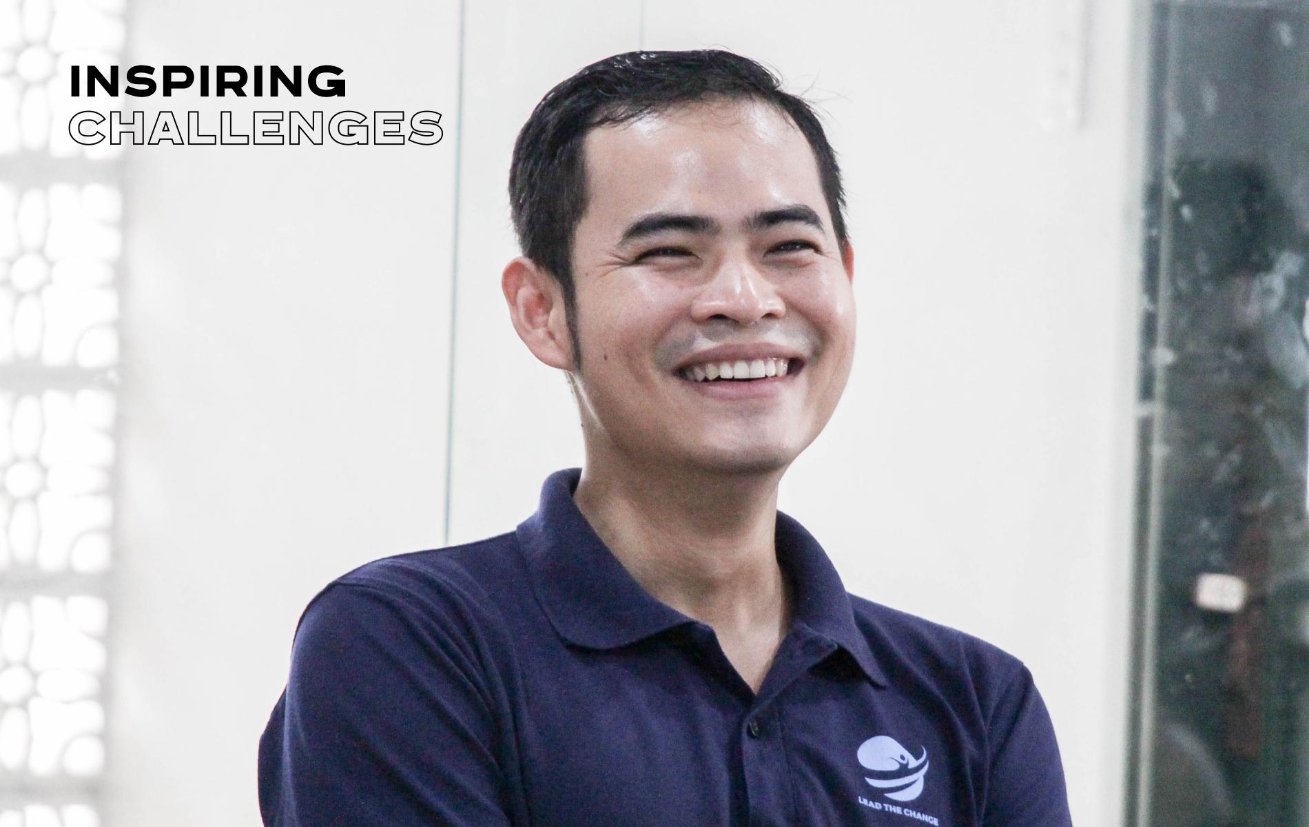 Nhà sáng lập cộng đồng khởi nghiệp Lead The Change, Huỳnh Công Thắng